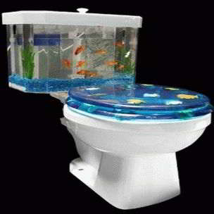 Fish-Tank-Decor-Ideas-with-toilet-design