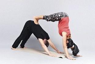 Сексуальная йога с партнером