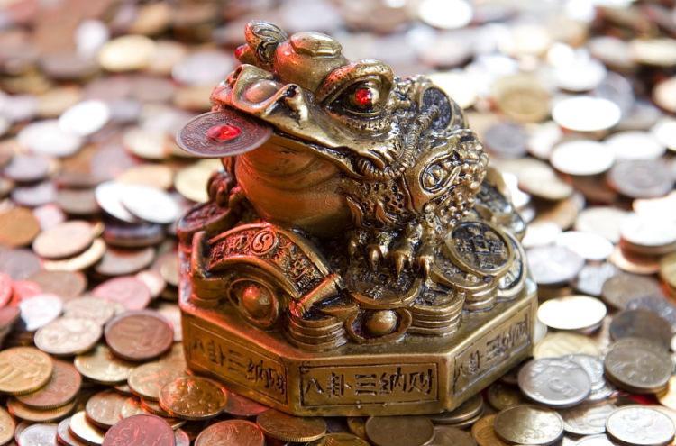Денежная жаба по фен-шуй. Где разместить