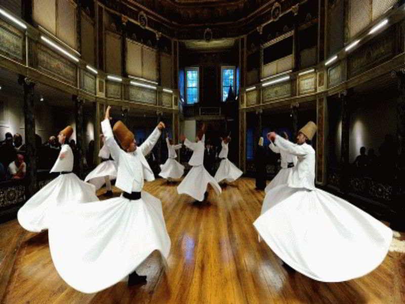 Суфийские танцы с юбкой – с чего начать и как их исполнять.