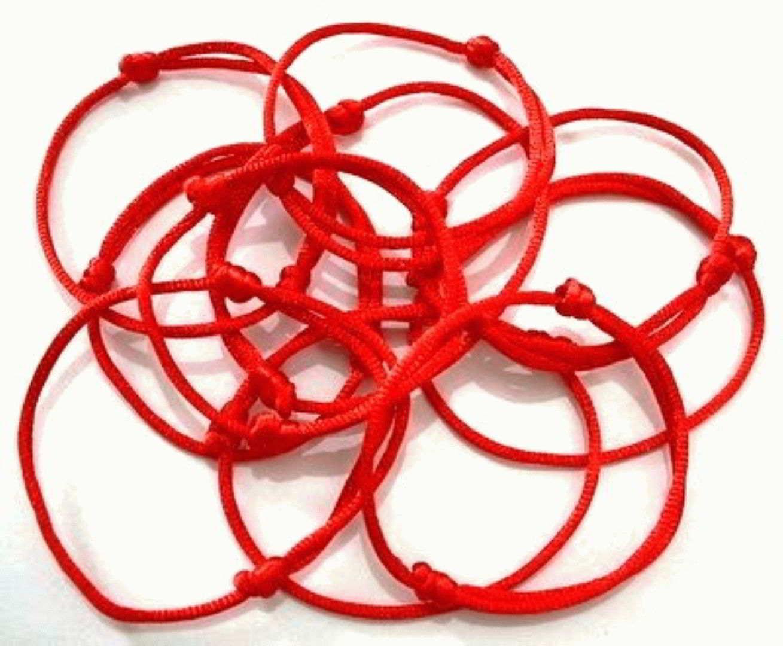 Каббала, красная нить на запястье, как завязывают