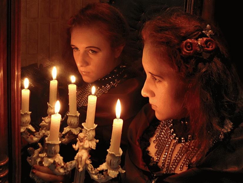 Ритуалы с зеркалом и свечой