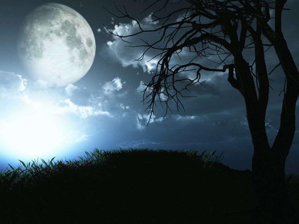 Ритуалы на богатство, удачу и любовь/свадьбу, проводимые ночью в новолуние