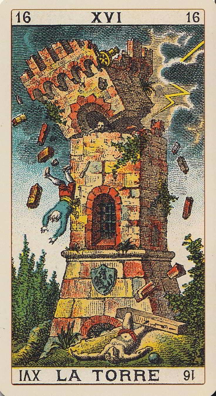 Карта Таро Башня, ее значение, внутренний смысл