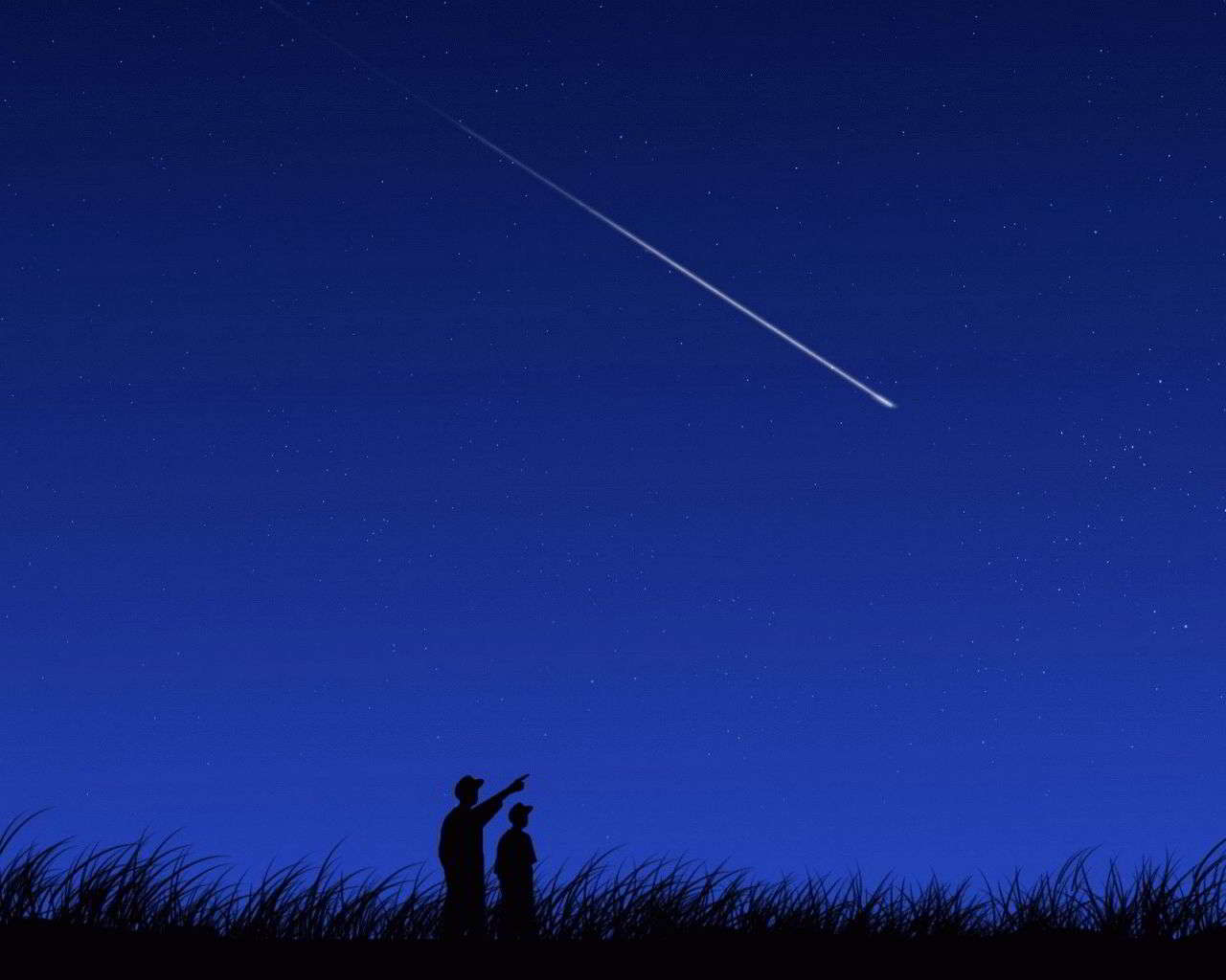 К чему снится загадывать желание на падающую звезду?