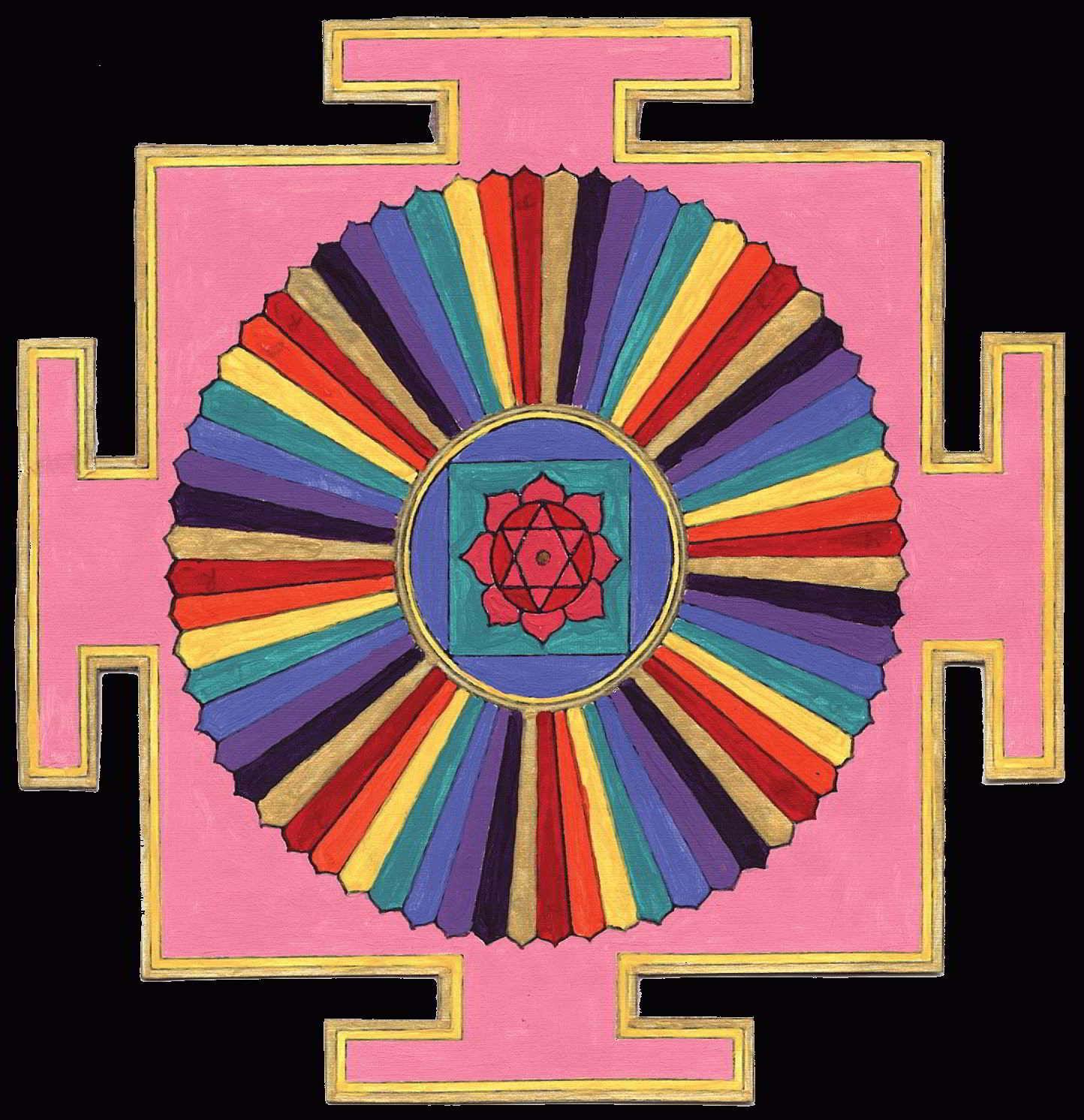 Тантрическая символика цвета — как это влияет