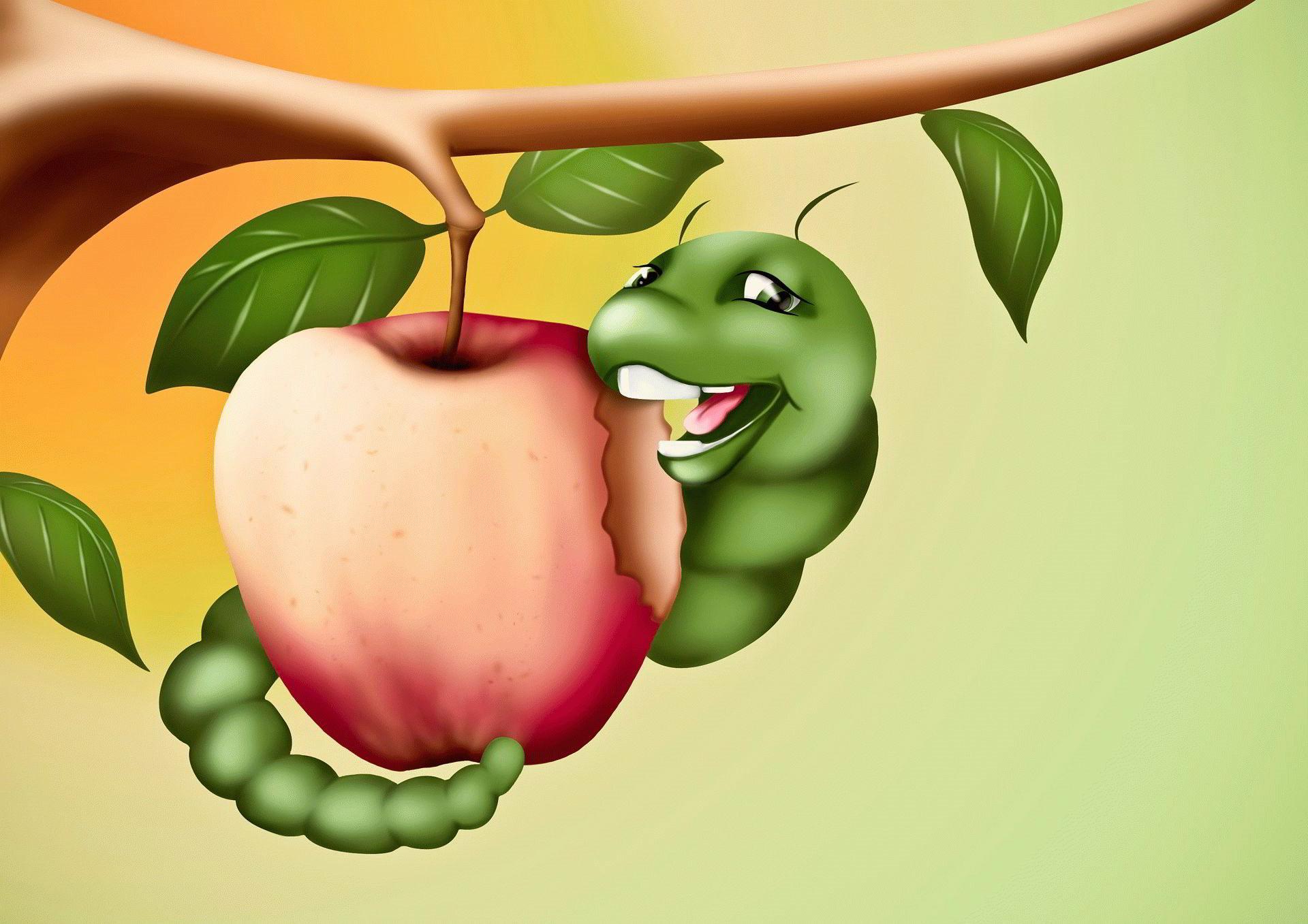 К чему снится яблоко с червями