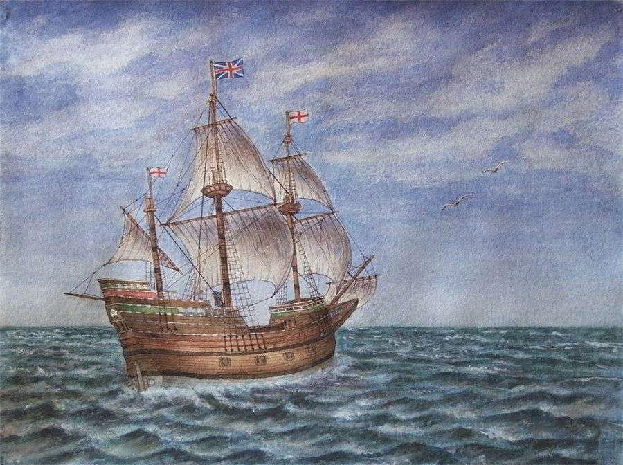 Значение карты № 3 «Корабль» (Десятка пик) – Ленорман