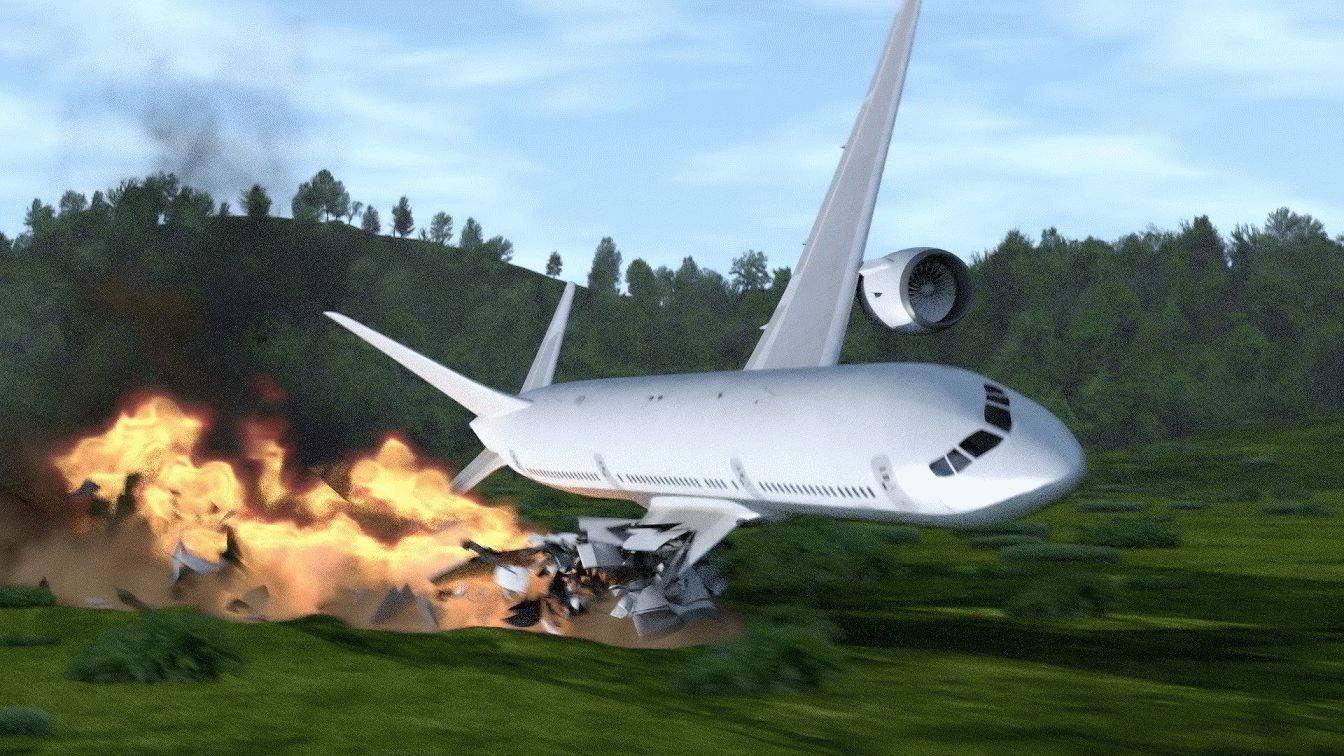 К чему сниться, что разбился самолет?