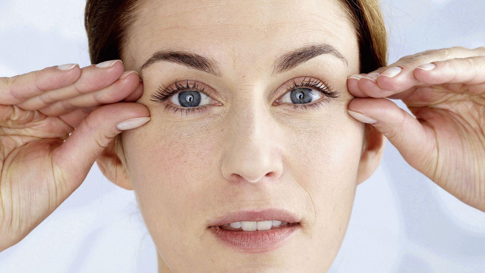 Даосский массаж для восстановления зрения
