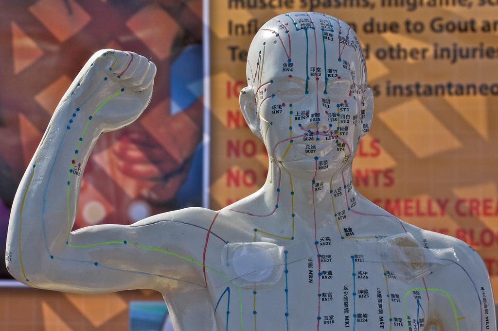 Древнекитайские точки акупунктуры — основные точки на теле