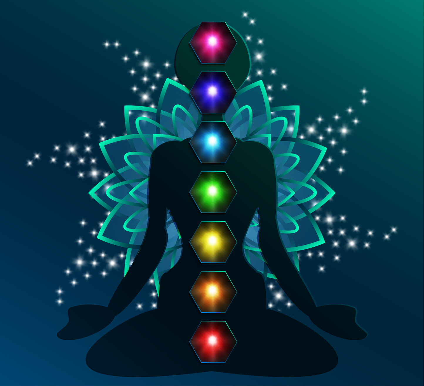 Цвета чакр человека — их значение и наполнение себя энергией