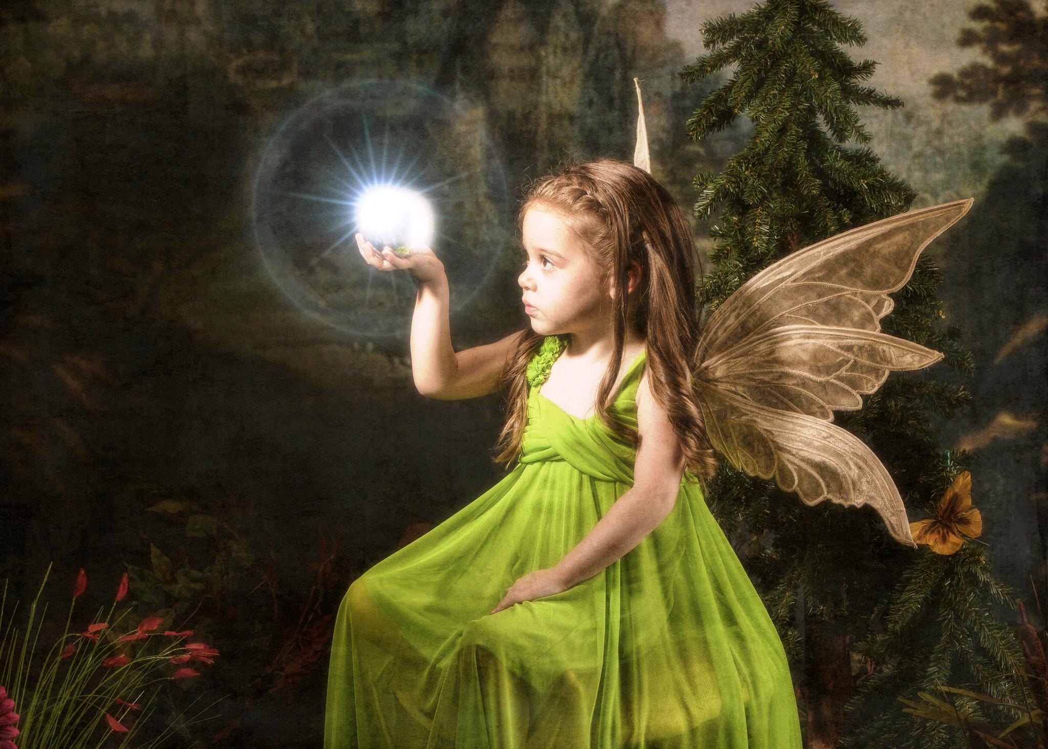 Магическая сила фей от Дорин Вирче